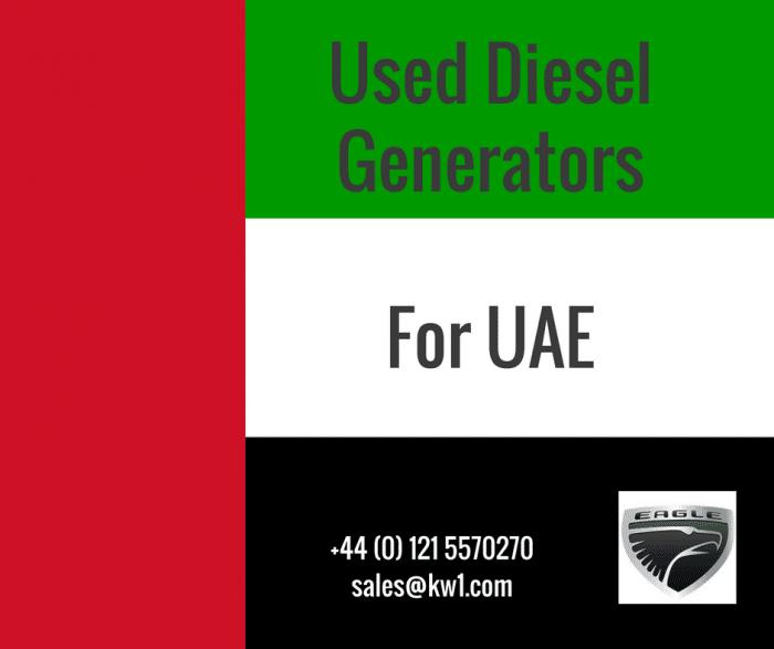 UAE Used Diesel Generators
