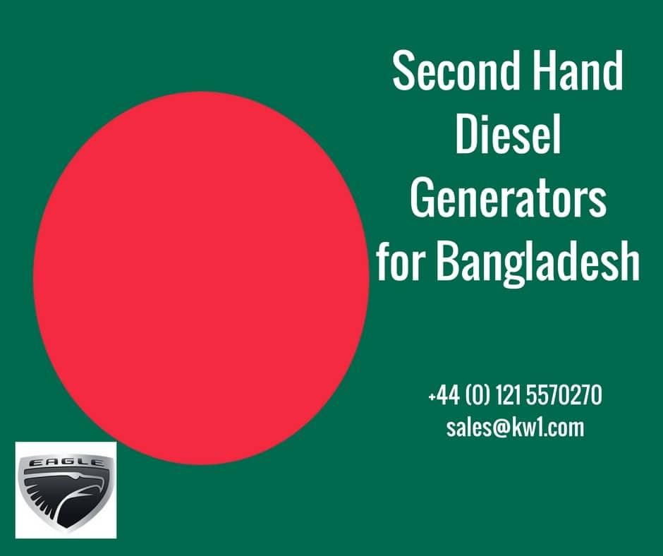 Buy Used Diesel Generators in Bangladesh