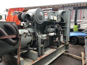 600 kVA Perkins/Marathon Open Type Used Diesel Generator
