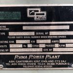 600 kVA Perkins/Marathon Open Type Generators