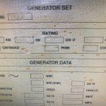 600 kVA CAT 3508 STD Gas Generator 3