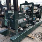 190 kVA Volvo/Stamford Open Type Used Diesel Generator for sale