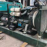 190 kVA Volvo/Stamford Open Type Used Diesel Generator 2