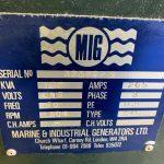 190 kVA Volvo/Stamford Open Type Used Diesel Generator 4