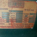 190 kVA Volvo/Stamford Open Type Used Diesel Generator 5