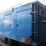440 kVA SDMO Volvo/Leroy Somer Acoustic Diesel Generator