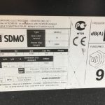 440 kVA SDMO Volvo/Leroy Somer Acoustic Diesel Generator 6
