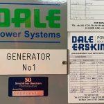 1500 kVA KTA50-G4 Cummins/Stamford Open Type Diesel Generator 5