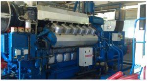 2 x 2800 Wartsila 2800 kVA Generators for Sale