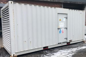 800 FG Wilson, Perkins/Stamford Used Diesel Generator fitted in a 20ft Acoustic container