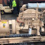 100 kVA Volvo/Stamford Open Type Generator