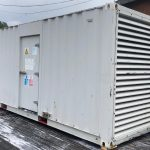 800 FG Wilson, Perkins/Stamford Used Diesel Generator fitted in a 20ft Acoustic container for sale