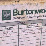100 kVA Volvo/Stamford Open Type Generators