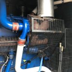 800 FG Wilson, Perkins/Stamford Used Diesel Generator fitted in a 20ft Acoustic container 5